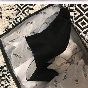 Nasty gal mule heels